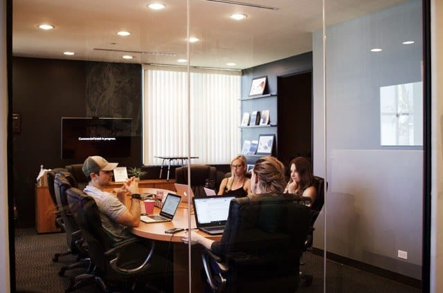 A group is meeting with their chief culture officer.