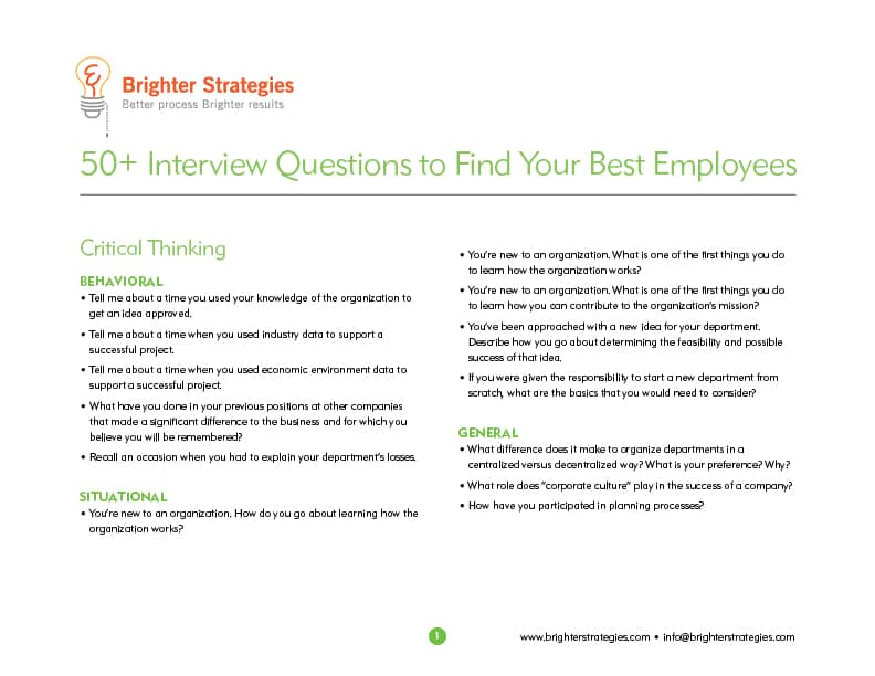 Interview Questions eBook
