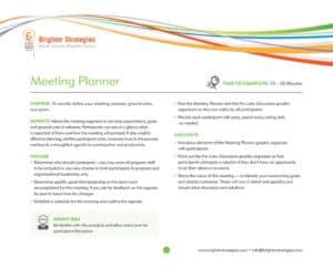Meeting Planner ebook