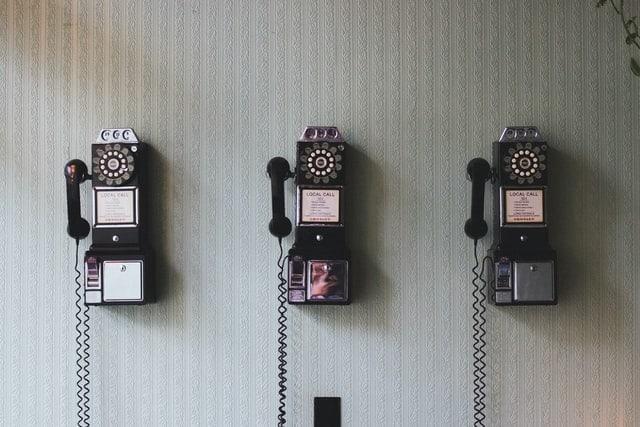 three old phones