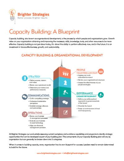 Capacity Building: A Blueprint eBook